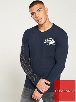 superdry-vintage-logo-long-sleeved-t-shirt-navy