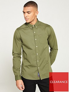 superdry-classic-twill-long-sleeved-shirt-green