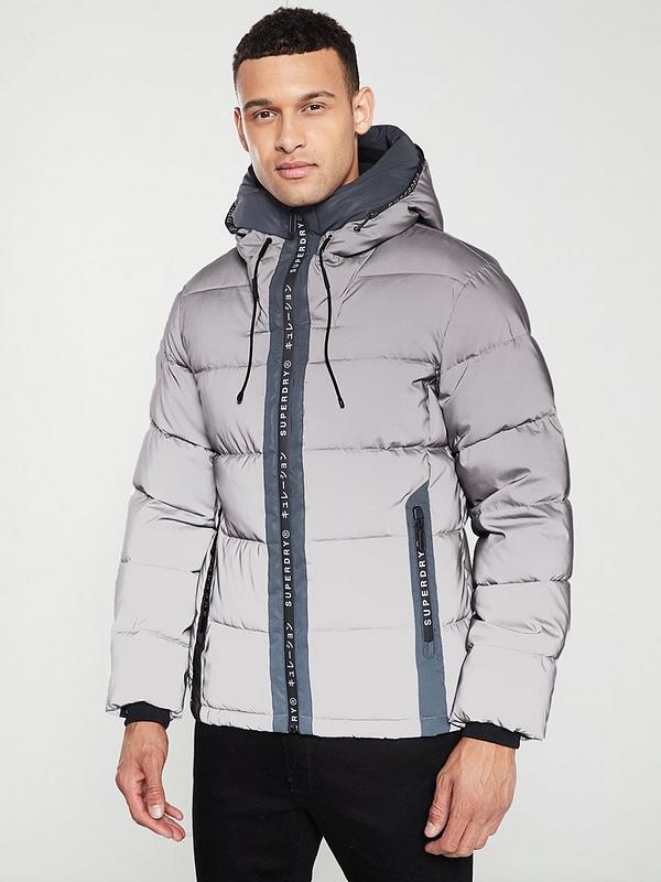 Reflector Padded Jacket