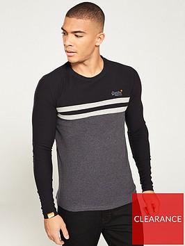 superdry-orange-label-colour-block-long-sleeved-t-shirt-greyblack