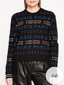 kenzo-all-over-logo-jumpers-multi