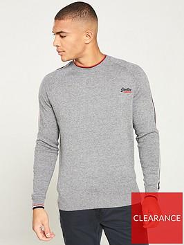 superdry-athletic-stripe-crew-neck-sweater-grey