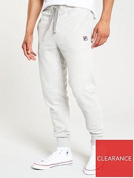 fila-visconti-fleece-joggers-grey-marl