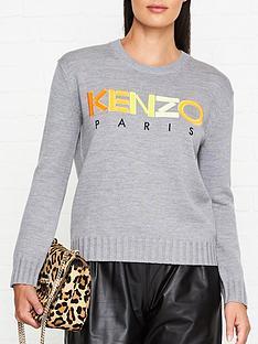 kenzo-paris-jumper-grey