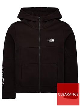 the-north-face-youth-south-peak-full-zip-hoodie-blackwhite