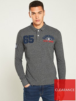 superdry-superstate-classic-long-sleeved-polo-shirt-charcoal