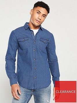 superdry-resurrection-long-sleeved-shirt-blue