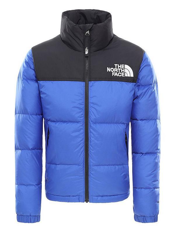 Youth 1996 Retro Nuptse Down Jacket Blue