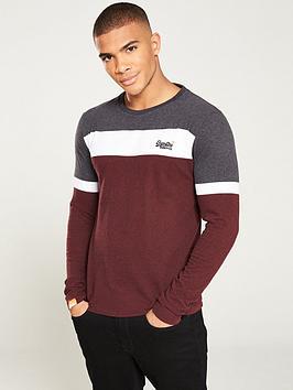 superdry-orange-label-engineered-long-sleeved-t-shirt-burgundywhitegrey