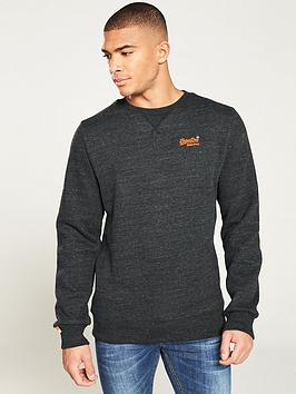superdry-orange-label-crew-sweater-charcoal