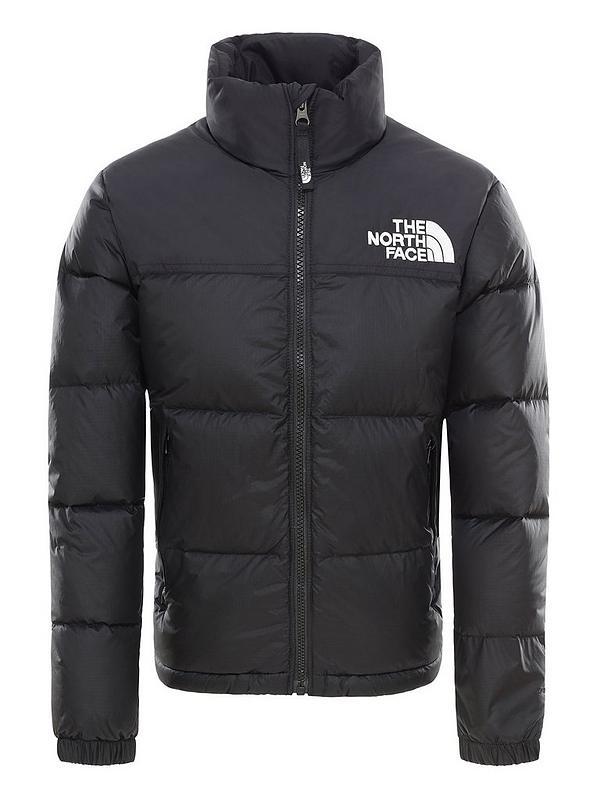 Youth 1996 Retro Nuptse Down Jacket Black