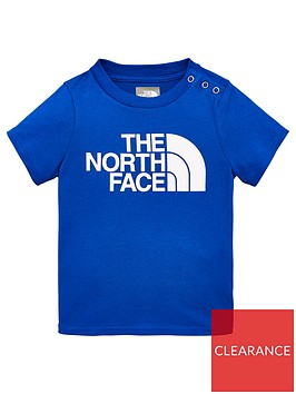 the-north-face-infant-short-sleeve-easy-tee-blue