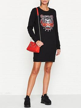 kenzo-classic-tiger-head-sweatshirt-dressnbsp--black