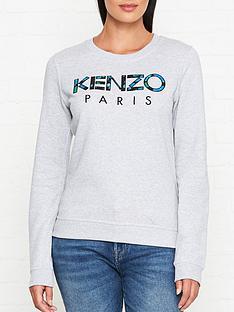 kenzo-paris-sweatshirt-grey