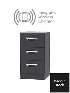 swift-canterbury-ready-assembled-3-drawer-bedside-chest-with-integrated-wireless-charging