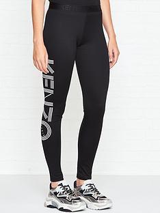 kenzo-logo-leggings-black