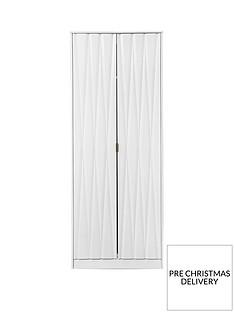 SWIFT Versailles Ready Assembled 2 Door Wardrobe