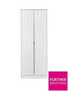 SWIFT Versailles Ready Assembled 2 Door Wardrobe