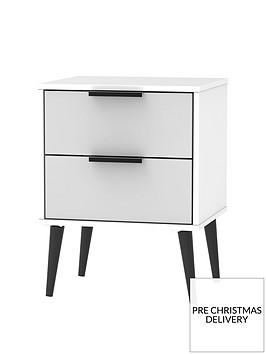 swift-copenhagen-ready-assembled-2-drawer-bedside-table