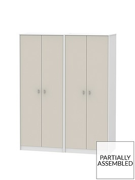 sahara-part-assembled-4-door-wardrobe