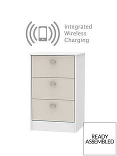 sahara-3-drawer-ready-assembled-bedside-cabinet-with-integrated-wireless-charging