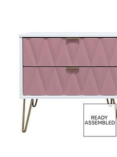 swift-versailles-ready-assembled-2-drawer-bedside-chest