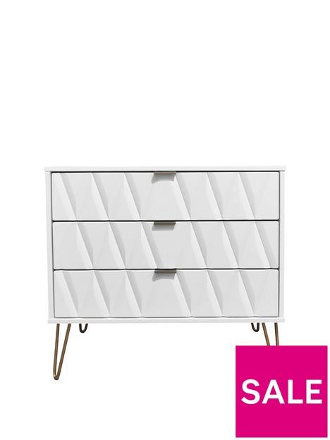 swift-versailles-ready-assembled-3-drawer-chest