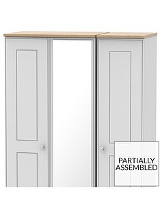 charlotte-part-assembled-3-door-mirrored-wardrobe