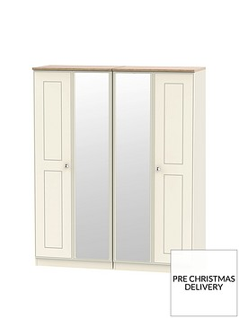 swift-charlotte-part-assembled-4-door-mirrored-wardrobe