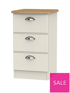 swift-charlotte-ready-assembled-3-drawer-bedside-cabinet