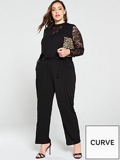 junarose-curve-sawra-lace-detail-jumpsuit-black