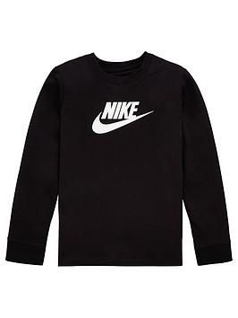 nike-sportswear-girls-long-sleevednbspfuturanbspt-shirt-black