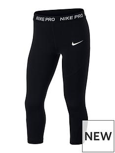 nike-girls-pro-capri-leggings-black