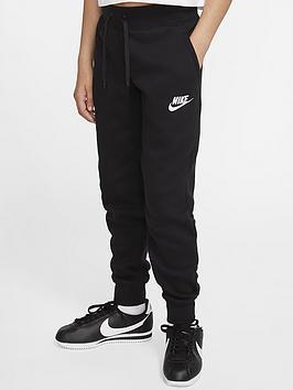 Nike Kids Nsw Pe Pants - Black/White