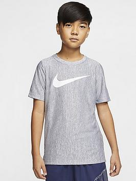 nike-kids-dry-training-short-sleeve-top-navywhite