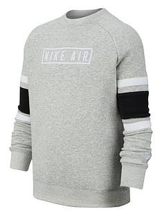 nike-air-kids-long-sleeved-crew-neck-sweat-greyblack