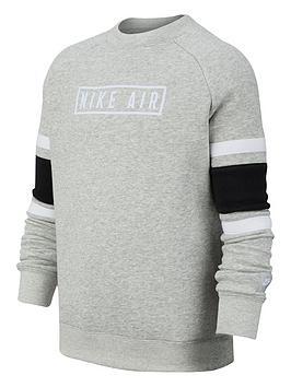 nike-air-kids-long-sleeved-crew-neck-sweat-greyblack
