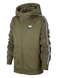 nike-sportswear-full-zip-taped-hoodienbsp--greenwhite