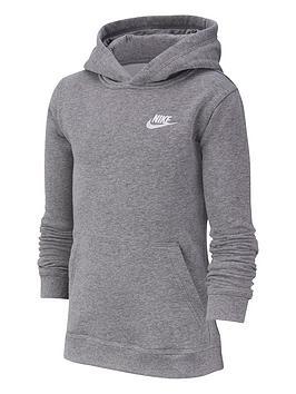 nike-kids-nsw-hoodie-po-club-dark-grey
