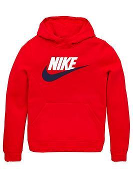 nike-kids-nsw-overhead-fleece-hoodie-club-red