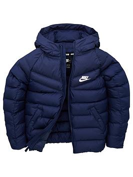nike-kids-b-nsw-filled-jacket-navywhite
