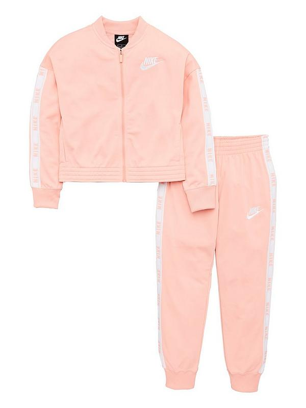 Nike Girls Tracksuit Little Girl Clothes Vintage Windbreaker