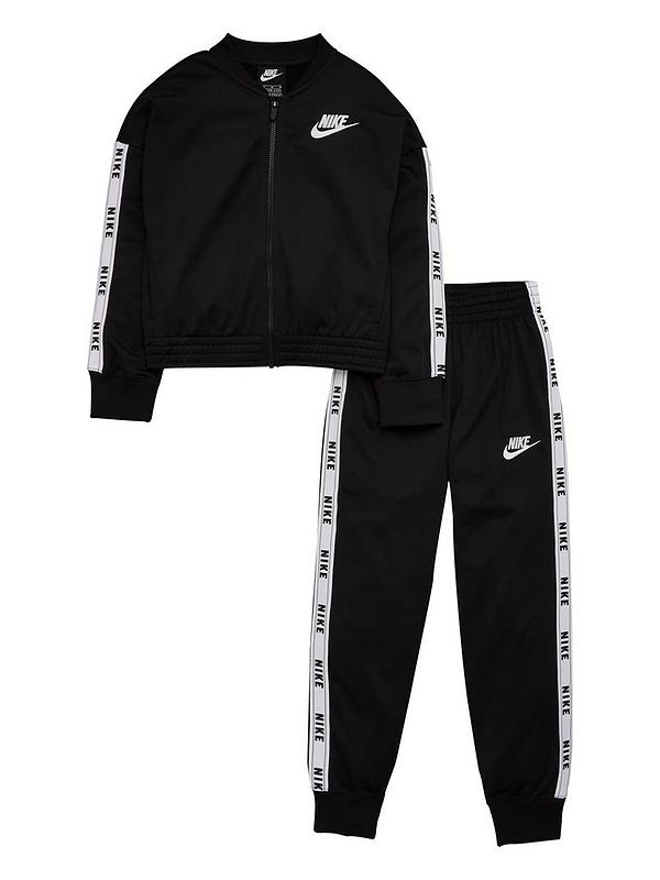 superior quality high quality new product Sportswear Girls Tricot Tracksuit - Black/White