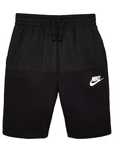 nike-sportswear-kidsnbspshorts-blackwhite
