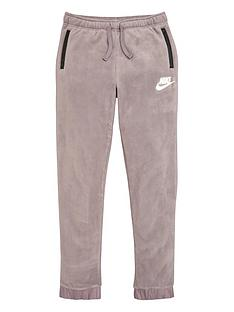 nike-childrens-fleece-winterised-pants-greyblack