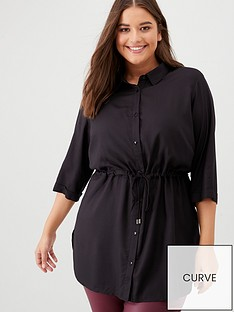 junarose-curve-juliett-tunic-shirt-black