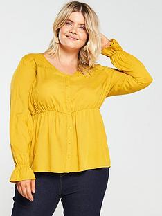 junarose-curve-farrow-blouse-yellow