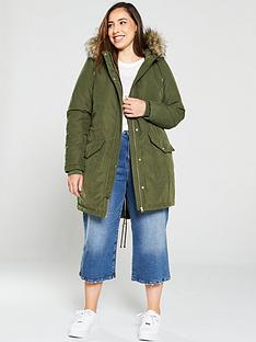 junarose-curve-plinko-parka-coat-green