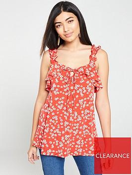 v-by-very-frill-floral-vest-ditsy-print