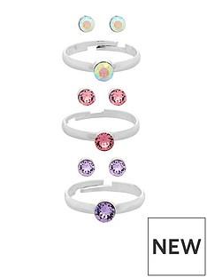 monsoon-swarovski-ring-earring-set